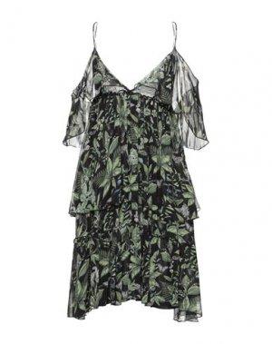 Платье до колена HTC. Цвет: черный