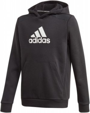 Худи для мальчиков adidas Badge Of Sport, размер 152. Цвет: черный
