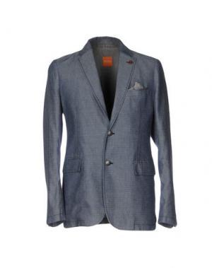 Пиджак BOSS HUGO. Цвет: грифельно-синий