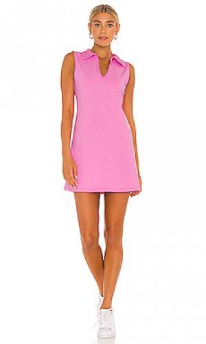 Мини платье club YEAR OF OURS. Цвет: розовый