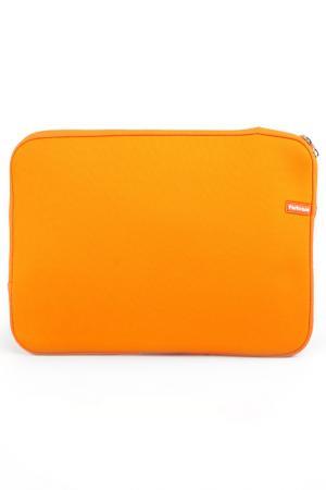 Чехол для ноутбука PortCase. Цвет: оранжевый