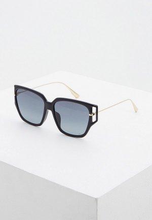 Очки солнцезащитные Christian Dior DIORDIRECTION3F 807. Цвет: черный