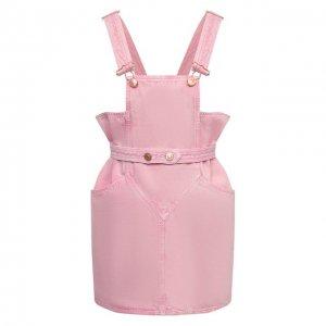 Джинсовый комбинезон Isabel Marant. Цвет: розовый