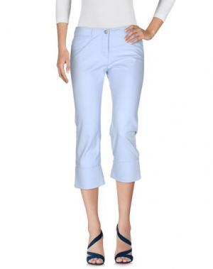Джинсовые брюки-капри CALVIN KLEIN JEANS. Цвет: лазурный