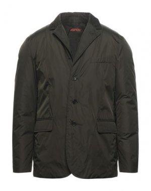 Куртка ASPESI. Цвет: темно-зеленый