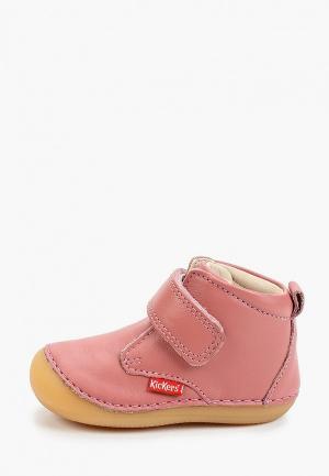 Ботинки Kickers SABIO. Цвет: розовый