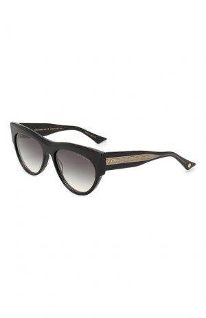 Солнцезащитные очки Dita. Цвет: чёрный