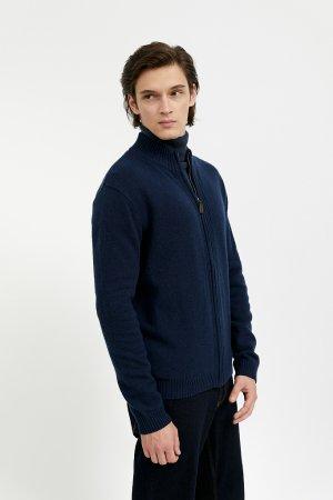 Кардиган мужской Finn-Flare. Цвет: темно-синий