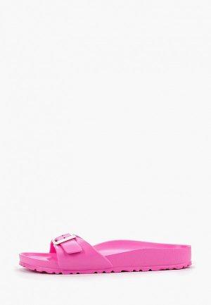 Сланцы Birkenstock Madrid EVA. Цвет: розовый