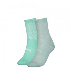 Носки Sock Structure 2P WOMEN PUMA. Цвет: зеленый