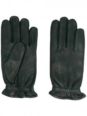 Перчатки с эластичными манжетами Orciani. Цвет: зеленый