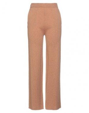 Повседневные брюки BEATRICE. Цвет: верблюжий
