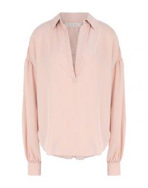 Блузка FREE PEOPLE. Цвет: светло-розовый