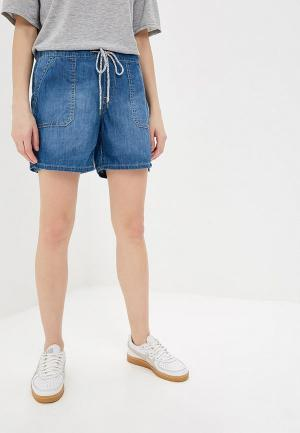 Шорты джинсовые Roxy. Цвет: синий