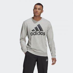 Свитшот Essentials Big Logo Sport Inspired adidas. Цвет: черный