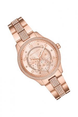 Часы наручные Michael Kors. Цвет: розовое золото