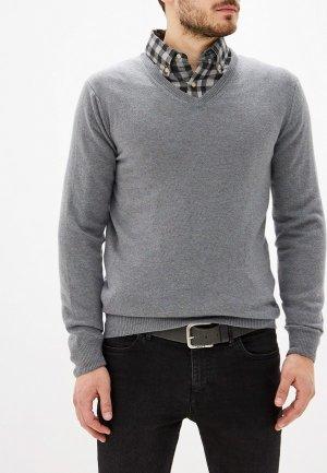 Пуловер Colletto Bianco. Цвет: серый
