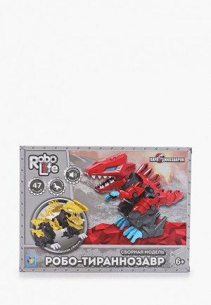Робот Robolife - конструктор, RoboLife, Сборная модель Робо-тираннозавр. Цвет: разноцветный