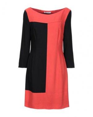 Короткое платье FLAVIO CASTELLANI. Цвет: оранжевый