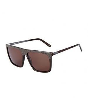Солнечные очки KARL LAGERFELD. Цвет: темно-коричневый