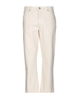 Джинсовые брюки ALTAMONT. Цвет: слоновая кость