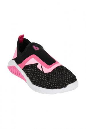 Обувь спортивная Bibi. Цвет: черный, розовый
