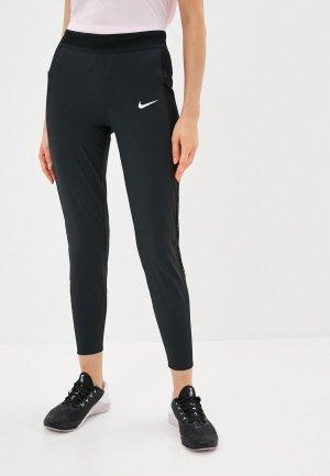 Брюки спортивные Nike W NK ESSNTL PANT RUNWAY. Цвет: черный