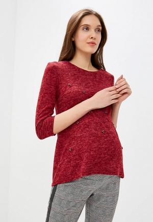 Блуза Очаровательная Адель. Цвет: бордовый