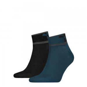 Носки Mens Blocked Logo Quarter Socks 2 pack PUMA