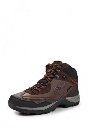Ботинки трекинговые Gola Active. Цвет: коричневый