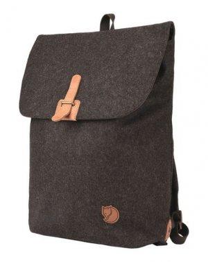 Рюкзаки и сумки на пояс FJALLRAVEN. Цвет: темно-коричневый