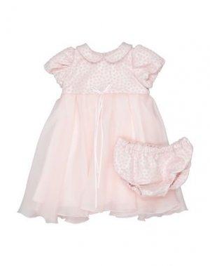 Платье LòLò. Цвет: светло-розовый