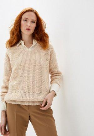 Пуловер Ermanno Scervino. Цвет: бежевый