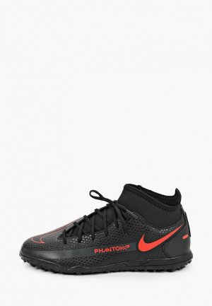 Шиповки Nike JR PHANTOM GT CLUB DF TF. Цвет: черный