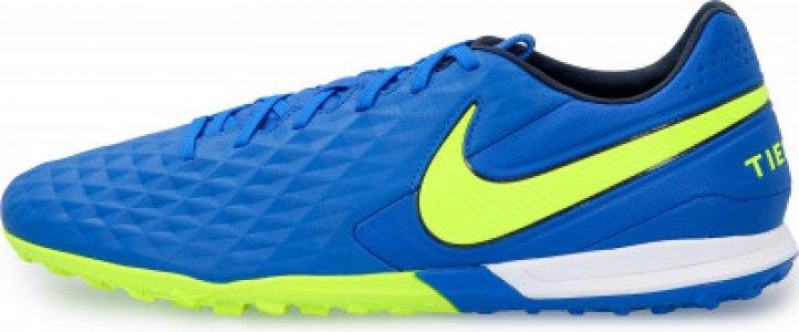 Бутсы мужские Tiempo Legend 8 Pro TF, размер 43 Nike. Цвет: синий