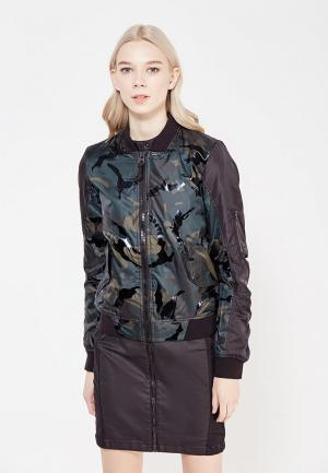 Куртка утепленная G-Star. Цвет: разноцветный