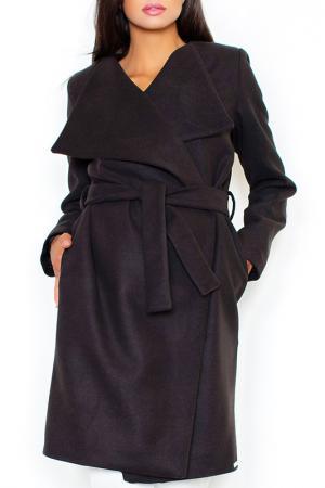 Пальто Figl. Цвет: black