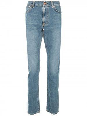 Слегка расклешенные джинсы Nudie Jeans Co. Цвет: синий