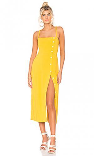 Платье janette Capulet. Цвет: желтый