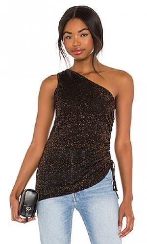 Майка Autumn Cashmere. Цвет: black,metallic copper
