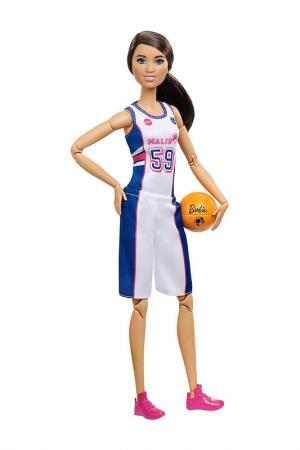 Барби (Баскетбол) Barbie. Цвет: белый