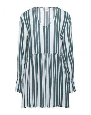 Блузка JACQUELINE de YONG. Цвет: темно-зеленый