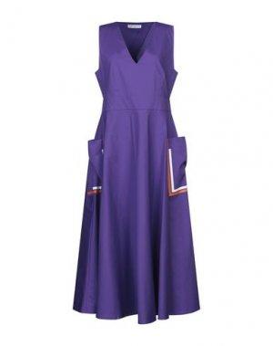 Платье длиной 3/4 BEATRICE. Цвет: фиолетовый