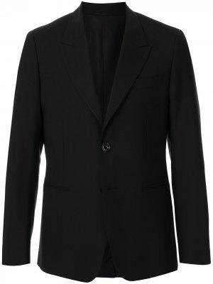 Пиджак на пуговицах CK Calvin Klein. Цвет: черный