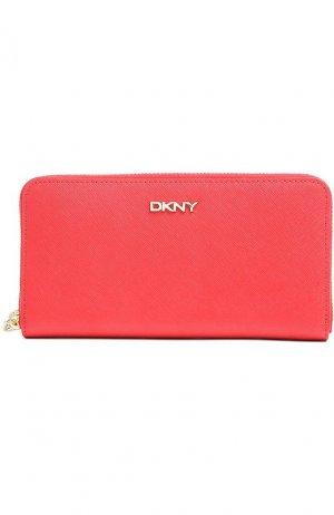 Портмоне DKNY. Цвет: красный
