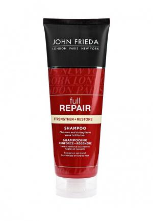 Шампунь John Frieda Full Repair Укрепляющий + восстанавливающий для волос, 250 мл. Цвет: прозрачный