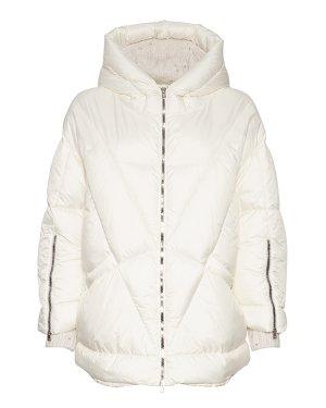 Утепленная куртка D29747CA 46 белый PANICALE. Цвет: белый