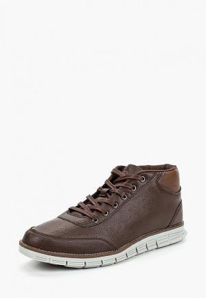 Ботинки Trien. Цвет: коричневый