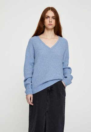 Пуловер Pull&Bear. Цвет: синий