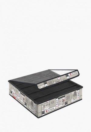 Органайзер для хранения Valiant. Цвет: серый